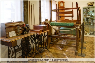 Webstuhl aus dem 18.Jahrhundert