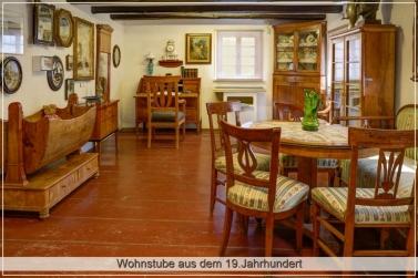 Wohnstube aus dem 19.Jahrhundert
